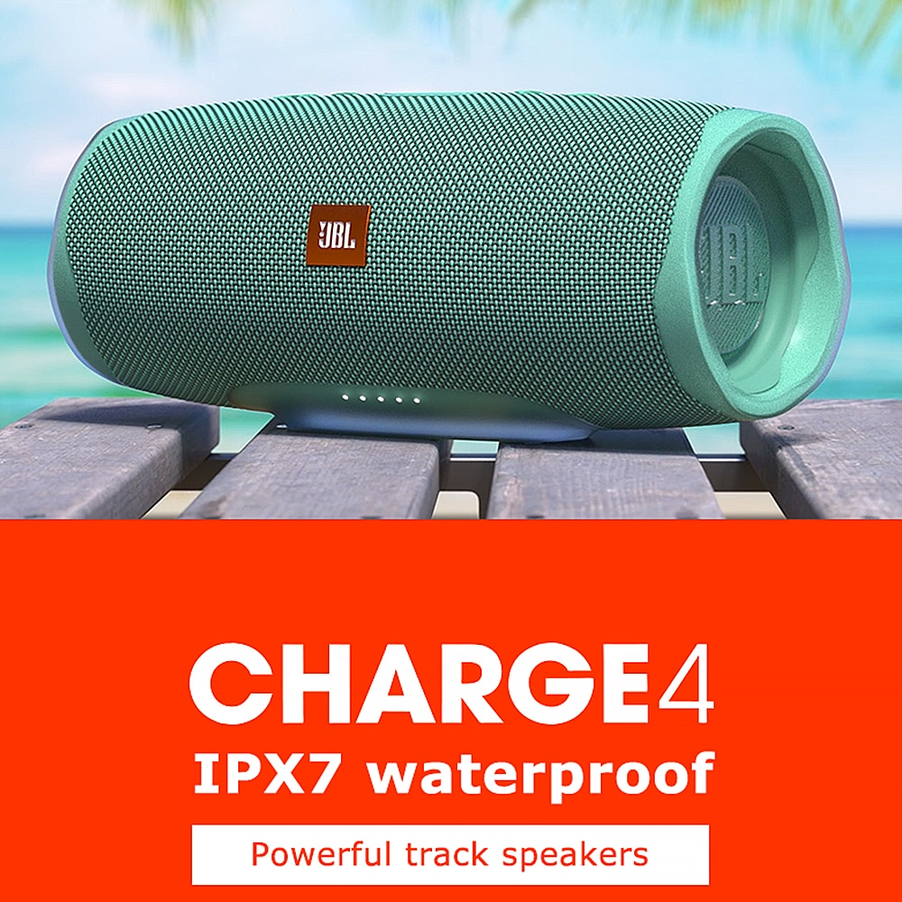 Charge4 Wireless Bluetooth Speaker Charge 4 IPX7 Waterproof Music Hifi Sound Deep Partybox Speakers CLIP 3 Pulse FLIP 5 Boombox enlarge