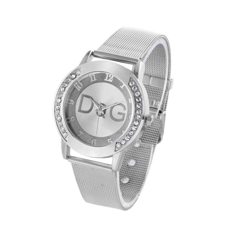 Luxury Brand Bear Women Watches Reloj Muje New Fashion Dress Quartz Watch Ladies Casual Stainless Steel Wrist Watches Hot Gifts