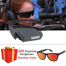 Shooting goggles Tactical Military glasses 3.0 Ballistic Polarized goggles  Outdoor Photochromic sun