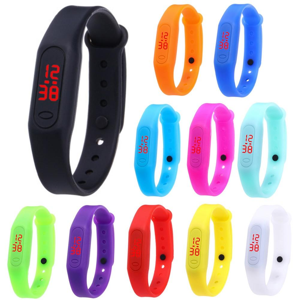 Child Watches New LED Watch Bracelet Kids Watch For Boys Girls Electronic School Sports Watch
