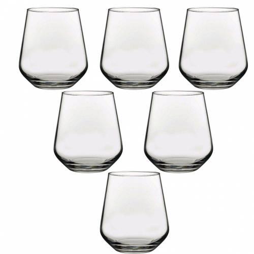 Pasabahce-taza de agua antimicrobiana, vaso de vidrio para Whisky, 6 'l