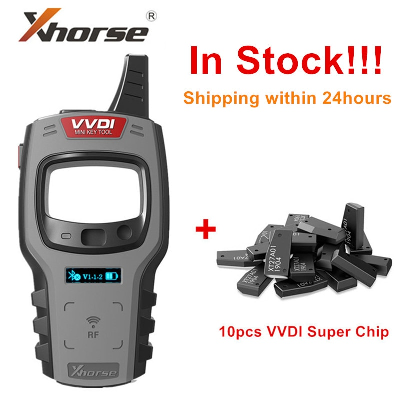 Xhorse VVDI Mini Key Tool Remote Key Programmer Support IOS and Android system with Super/4D/48 Chips