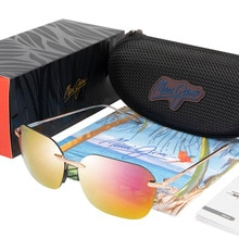 BRAND DESIGN Komohana Polarized Sunglasses For Men Pilot Driving Sunglasses Male Fishing Goggles UV4