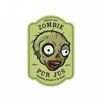 zombie birthday cake bottle label zombie label wall sticker vinyl car bumper sticker car decal zww 2574 13cm8 5cm