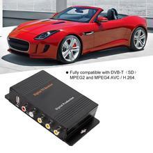 DVB-T MPEG 4 receptor de TV portátil Digital Control Remoto sintonizador Box accesorios de coche fuerte capacidad de recepción de señal