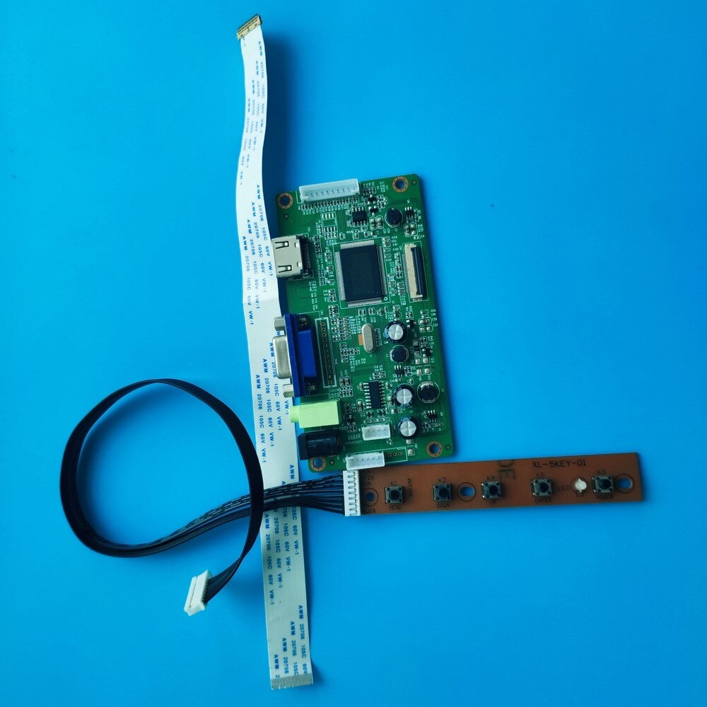 عدة ل N133BGE-EA1/N133BGE-E41 VGA وحدة تحكم بشاشة إل سي دي مجلس رصد عرض HDMI سائق الشاشة 1366X768 لتقوم بها بنفسك EDP LED 30pin 13.3
