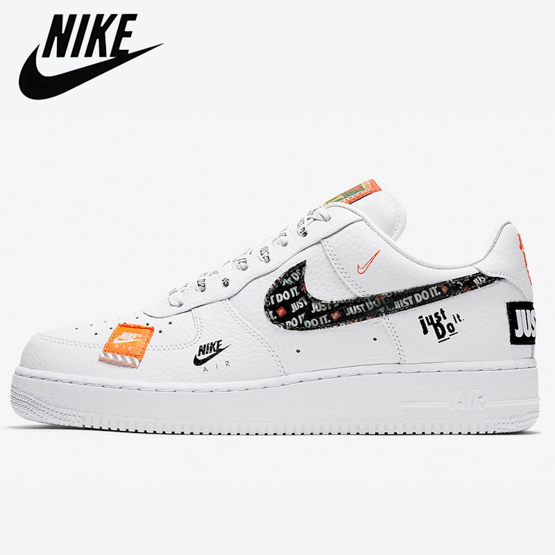 Authentic Original SCHNIKE-Air Force 1 Just Do It Men Skateboarding Shoes AF1 AirForce One Women's O