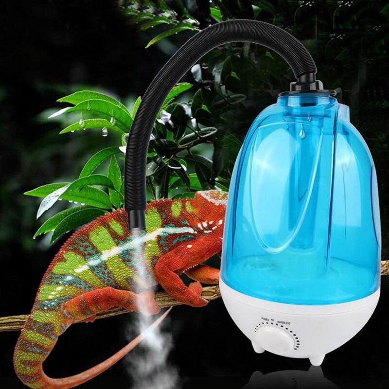 AFBC 3L, anfibios y humidificadores de reptiles, tubo de extensión para terrario