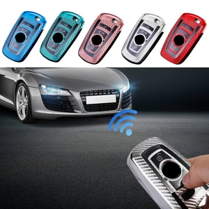 Soft TPU Car Key Case Shell Cover for BMW1 3 5 7 Series E87 F34 G20 G31 120i 320i 525Li M760Li 530i X1 X3 X4 Auto Key Sleeve Bag