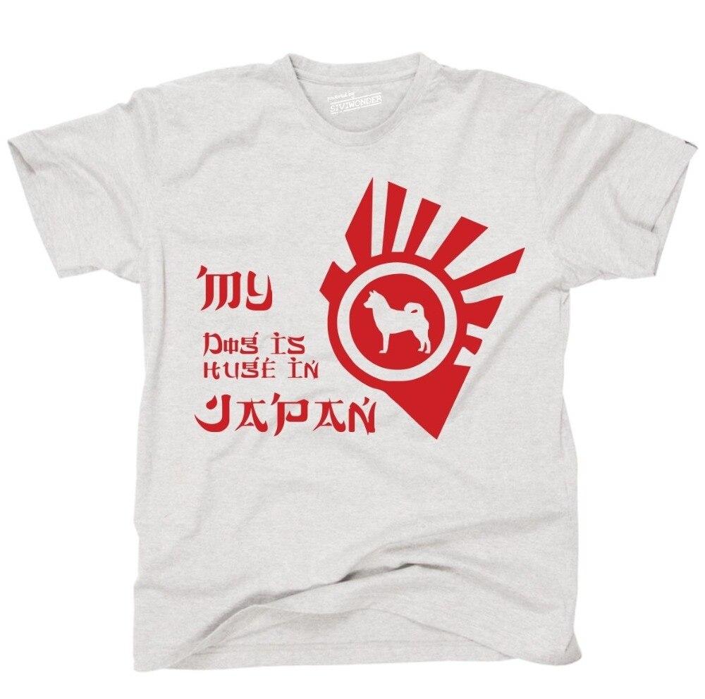 Camiseta de moda de gran oferta, camiseta de AKITA INU SHIBA, Japón,...