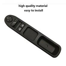 مفاتيح نوافذ كهربائية آلية تحكم رئيسي رافع طاقة 6554QC مفتاح نافذة متوافق مع بيجو 207 كابينة يسار
