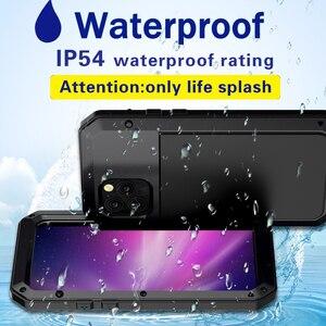 Image 2 - Роскошный металлический алюминиевый чехол с полной защитой 360 для телефона iPhone 12 Pro 12Mini 11Pro Max XS MAX XR X 6 6S 7 8 Plus, противоударный чехол