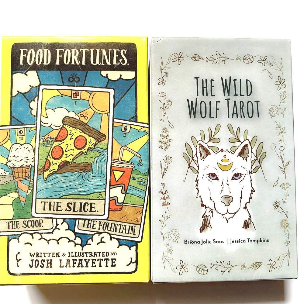 2021 Hot Sell The Wild Wolf Tarot Cards 78Cards Tarot Cards For Divination Personal Use Full English Version Tarot 2021 hot sell dreaming way tarot cards 78cards tarot cards for divination personal use full english version tarot