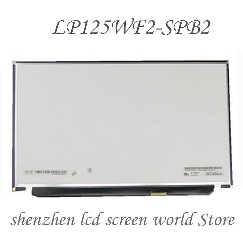 12 laptop laptop tela lcd do portátil lp125wf2 (sp) (b2) LP125WF2-SPB2 lp125wf2 spb2 para lenovo thinkpad x240 x250 x260 x270 x280 fhd ips