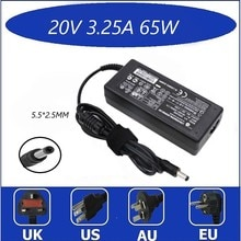 NEW 20V 3.25A 5.5*2.5mm AC Laptop Adapter Charger For Lenovo IdeaPad g530 g550 g560 Charging Device