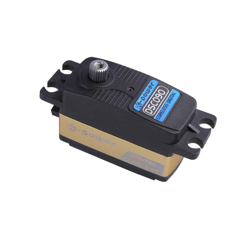 K-power DSC090 45G 9KG/0.08sec High Speed Coreless Motor Low Profile Digital Servo for 1/8 1/10 RC Drift Car