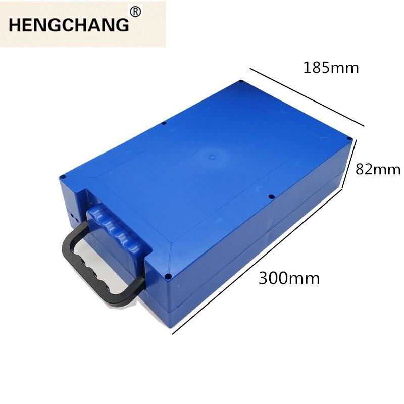 48V 60V 72V 20Ah 12Ah caja de batería de litio 18650 li-ion paquete celular funda carcasa soporte DIY EV eBike e-bike ABS impermeable