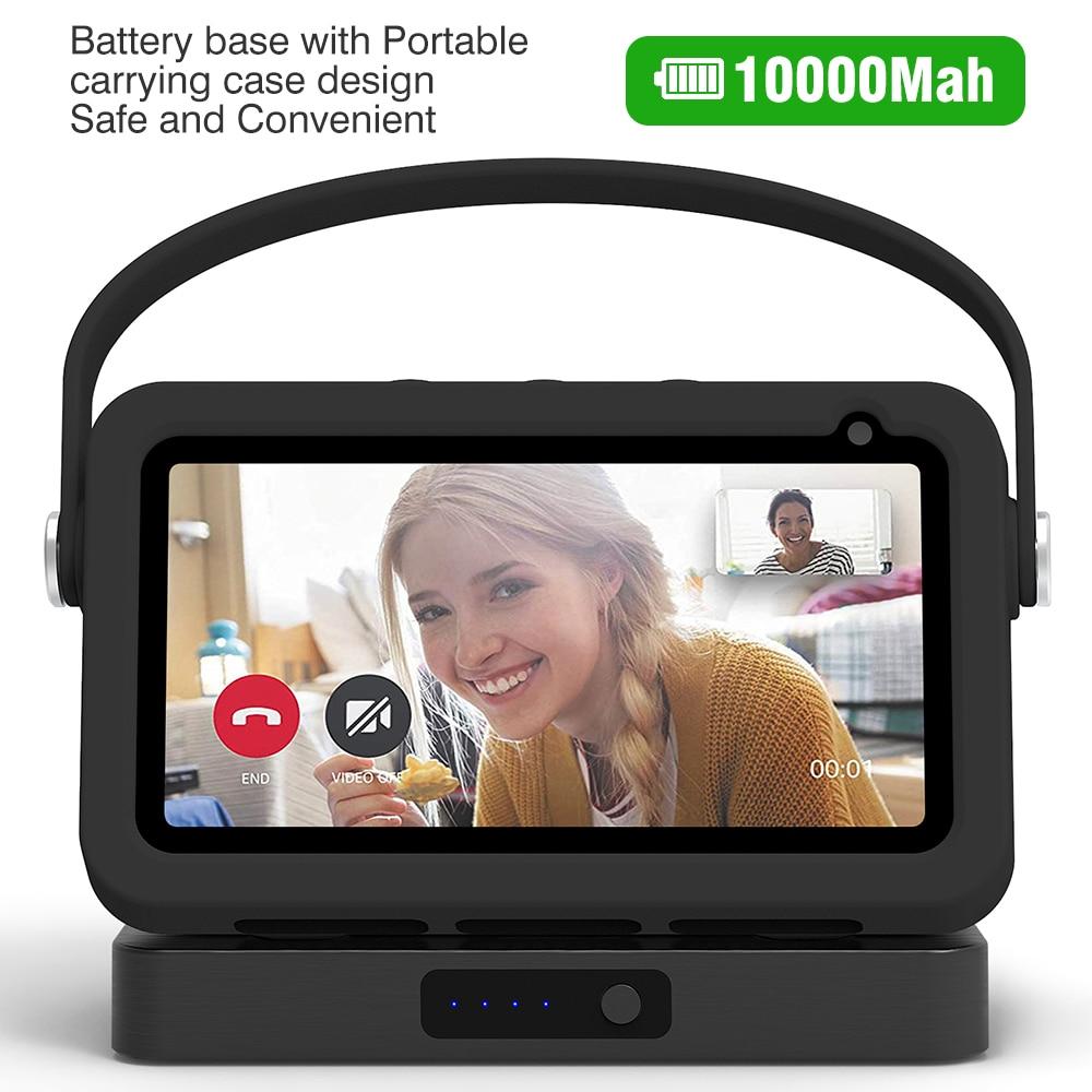 Base de batería para Echo show 5, cargador portátil para Echo show...