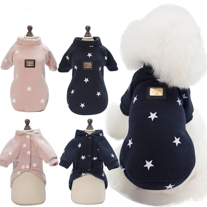 Pet Dog Clothes For Dog Clothing Cotton Warm Clothes for Dogs Thick and Thin Pet Product Dogs Coat Jacket Puppy Chihuahua