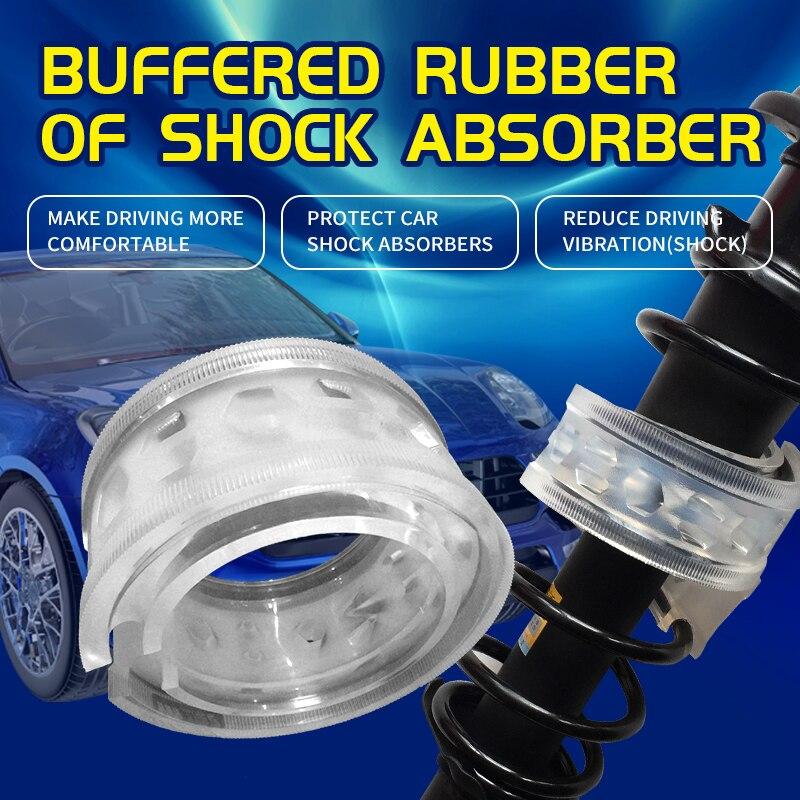 Modelo b + borracha do amortecedor para o amortecedor do automóvel melhorou a absorção de choque e levanta a altura do corpo do carro