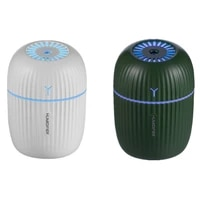 200ML Mini Humidificateur Dair Arome Diffuseur Dhuiles Essentielles pour La Maison De Voiture USB avec LED Nuit Lampe Basse Dhumidification