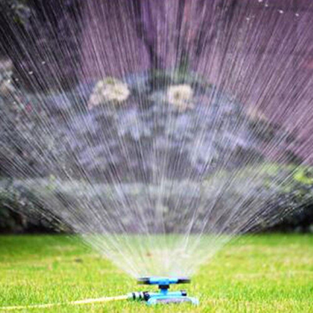360 градусов автоматические садовые разбрызгиватели полива травы газона роторная насадка вращающаяся система разбрызгивания воды Садовые принадлежности
