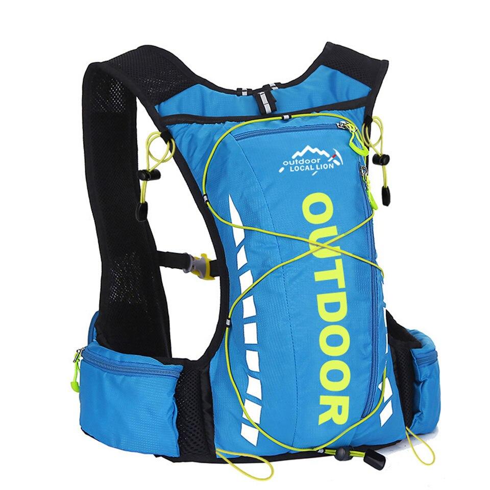 Mochila para bicicleta LOCAL LION 10L, mochilas impermeables para ciclismo, Camping, escalada, 8 colores, Mochila pequeña para hidratación