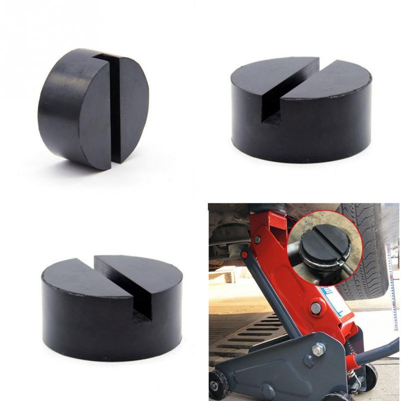 Vehículo suelo universal Jack disco almohadilla adaptador manta de goma para Pinch de carril lateral soporte