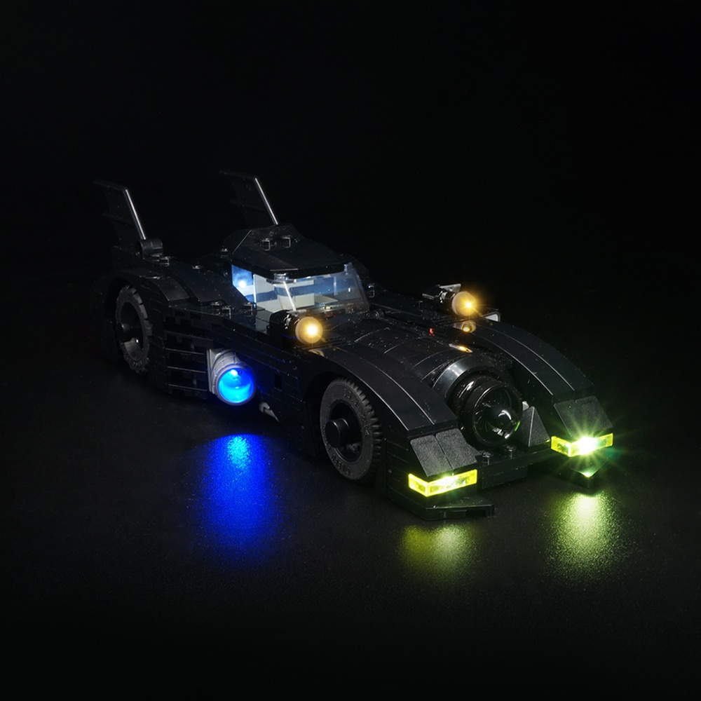 Kit de luz led para 40433 1989 versão batmobile mini carro (apenas kit de luz incluído)