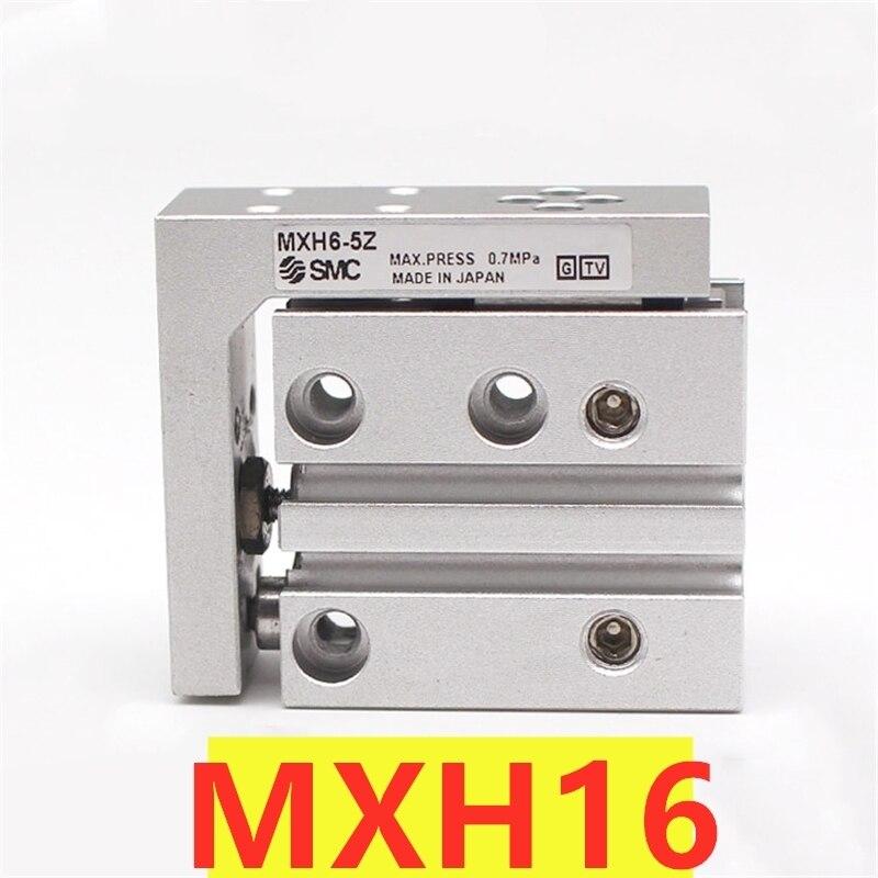 Mxh novo mxh10 MXH10-5Z/10z/15z/20z/25z/30z/40z/50z/60z smc cilindro de corrediça compacto pneumático cilindro de ação dupla py conectar