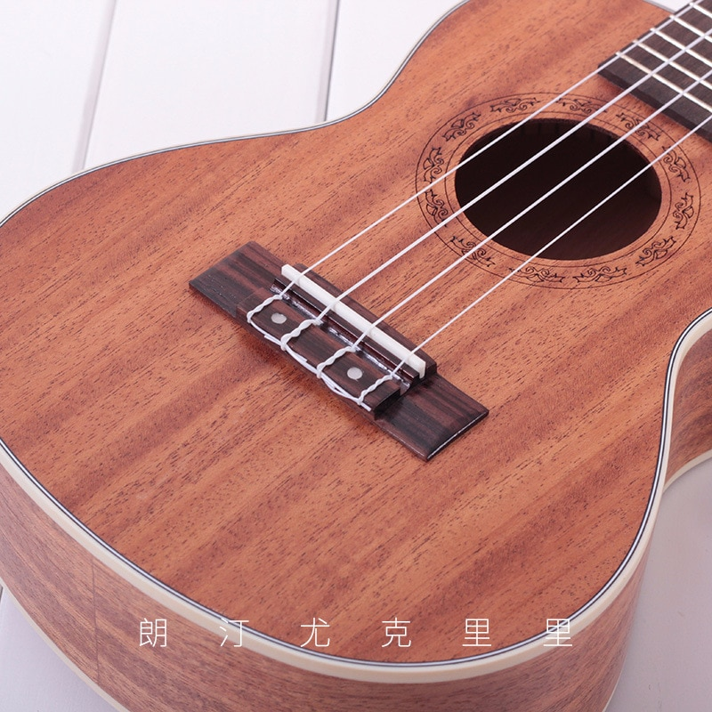 23 26 Inch Ukulele Mahogany Beginner Soprano Ukulele Guitar Music Instruments Bass 4 Strings Wood Hawaiian Ukulele Guitarra enlarge