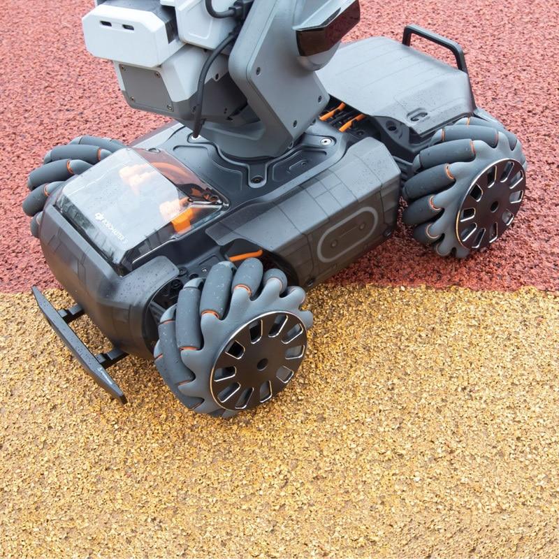 2Pcs Für DJI RoboMaster S1 Aluminium Legierung Schutzhülle Rad Anti-Kollision Schraubendreher Schrauben Teil Für DJI RoboMaster S1 roboter