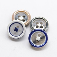 HENGC 4 Holes Colorful Light Resin Shirt Decorative Buttons For Clothing Sleeve Dress Kid Children S