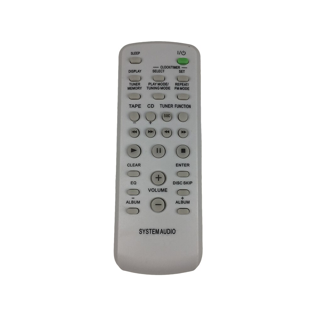 Remote Control Fit For Sony RM-SC50 RM-SC51 RM-SC55 HC-DSPZ50 CMT-G83, CMT-HPZ7, MHC-EC50, MHCEC70 Mini Hi-Fi Component System