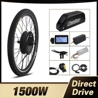 chamirder 1500w electirc bicycle kit 48v ebike conversion kit 52v bicycle rear motor wheel 20ah polly battery electric bicycle