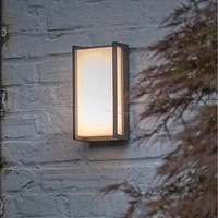 8w 18w wall lamp outdoor waterproof ip54 led aluminum frame wall light villa garden porch exterior door decor sconces warm white
