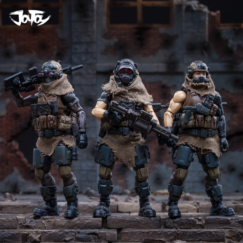 JOYTOY 1/18 action figure soldiers(3pcs/lot) WEST ASIAN MERCENARY LEGION  model doll  Free shipping RD18070