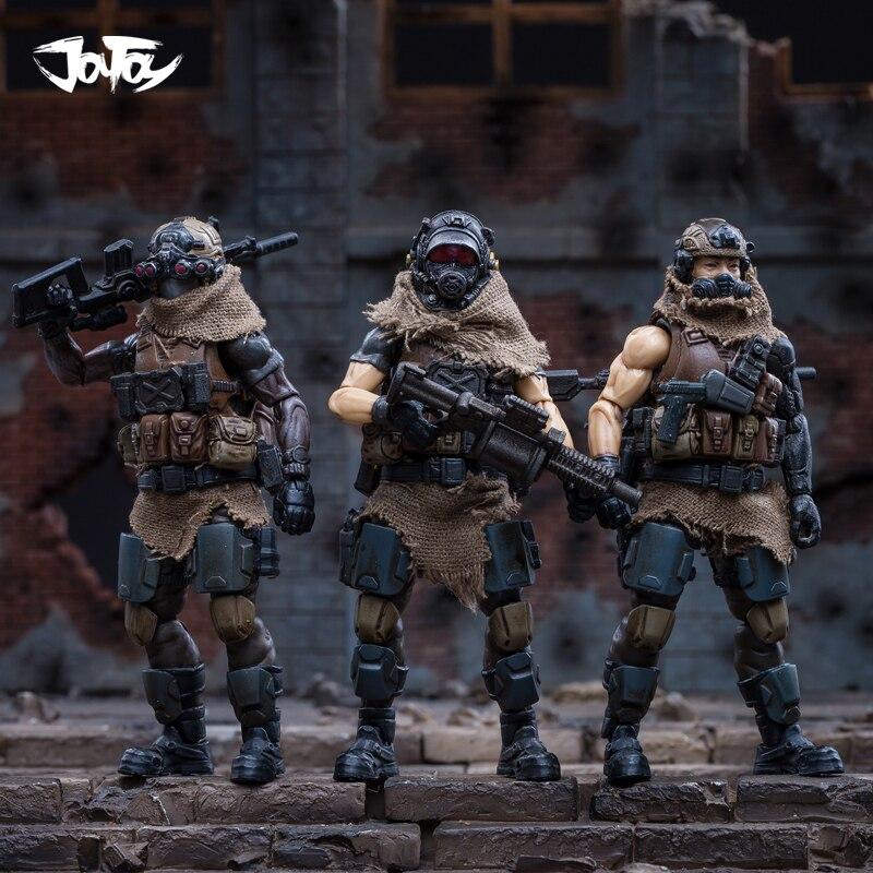 JOYTOY 1/18 figurka żołnierzy (3 sztuk/partia) WEST ASIAN najemnik LEGION lalka model darmowa wysyłka RD18070