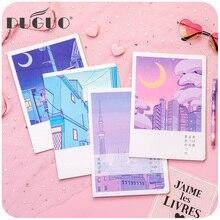 DUGUO leuke briefpapier Korea leuke notebook set eenvoudige kleine verse meisje creatieve persoonlijkheid dagboek kaart meer stijl wow levert