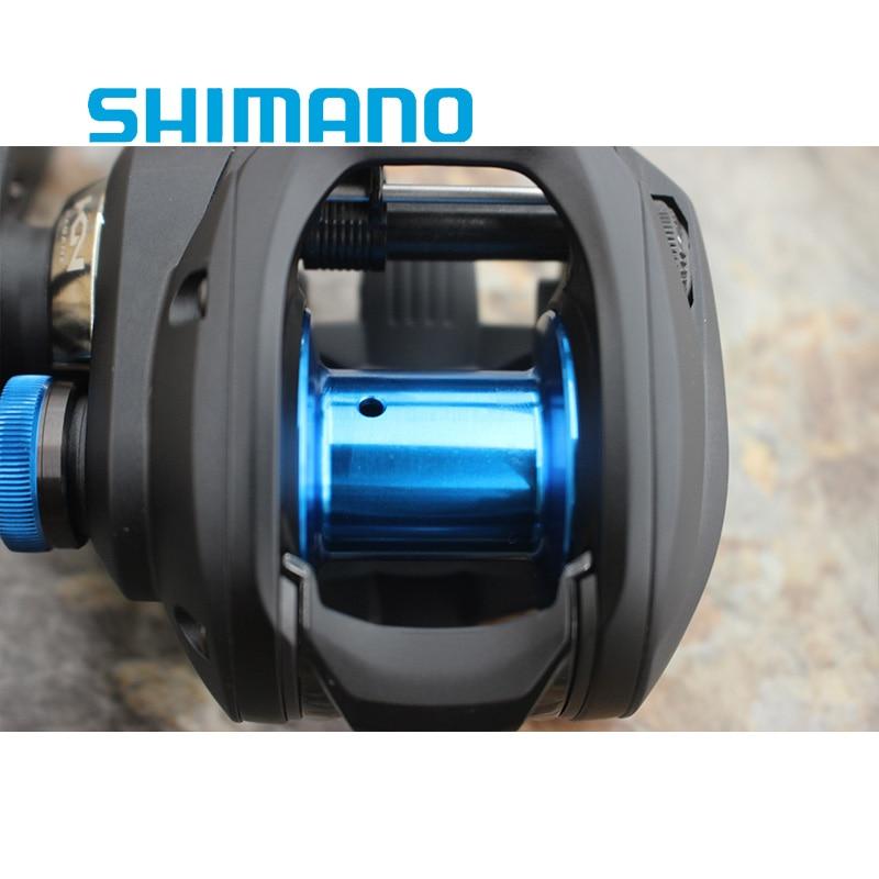 NEW SHIMANO SLX DC 150 151 150HG 151HG 150XG 151XG low Profile Baitcast fishing reel 4BB+1RB enlarge
