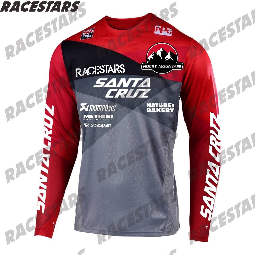 SANTA CRUZ Pro montaña Jersey camiseta de Motocross Enduro MTB MX BMX...