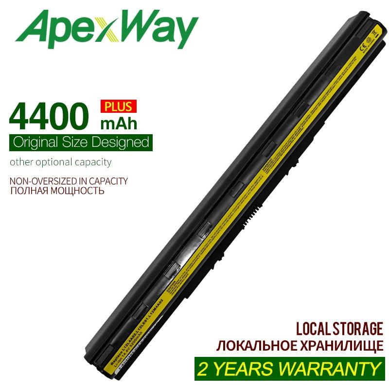 ApexWay 8 الخليوي 4400mAh l12m4e01 جديد بطارية لينوفو g505s z50-70 g50-45 g500s ينوفو z710 L12L4A02 L12M4A02 L12M4E01 L12S4A02