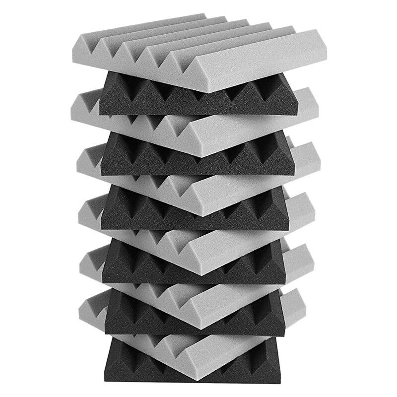 12 Pcs Acoustic Foam Panel, Sound Insulation Pad,Sound Insulation Foam Panel,Studio Foam,Sound Insulation Foam,5X30X30cm enlarge