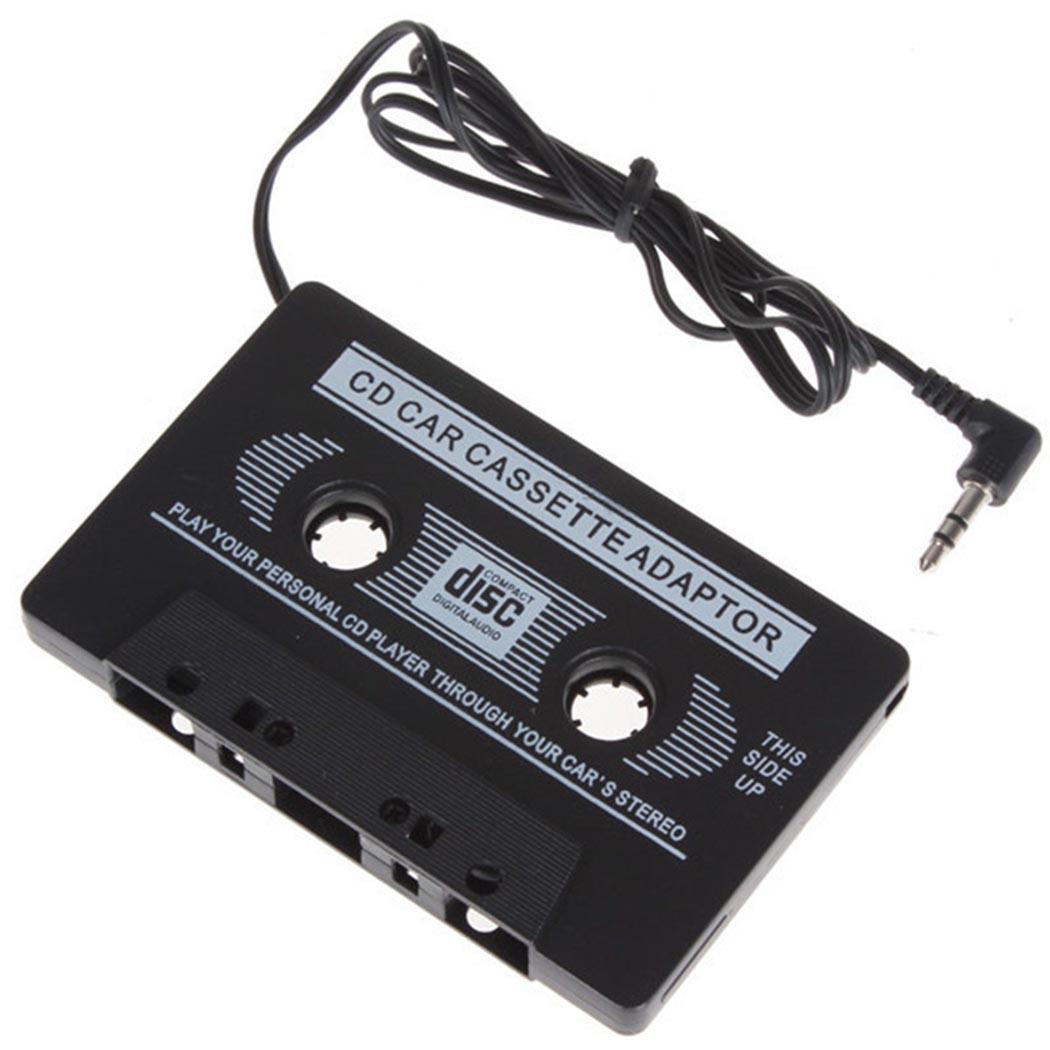 Adaptador de cinta de Audio AUX para coche de 3,5mm, transmisores de casetes para MP3, IPod, USB a Mp3, adaptador de vídeo H0204