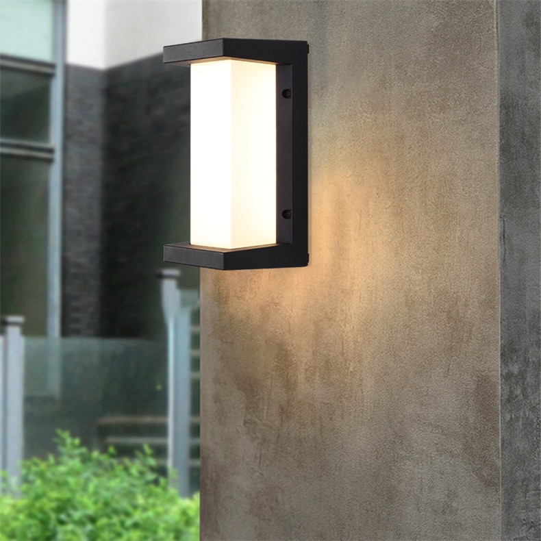 OULALA Outdoor Wall Lamps FixtureWaterproof Contemporary Creative Decorative For Porch Patio enlarge
