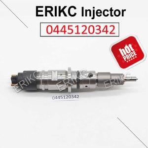 ERIKC 0445120342 Injector Fuel Diesel Engine Part 0 445 120 342 High Pressure Fuel Injection Pipe For Bosch CUMMINS Cummins