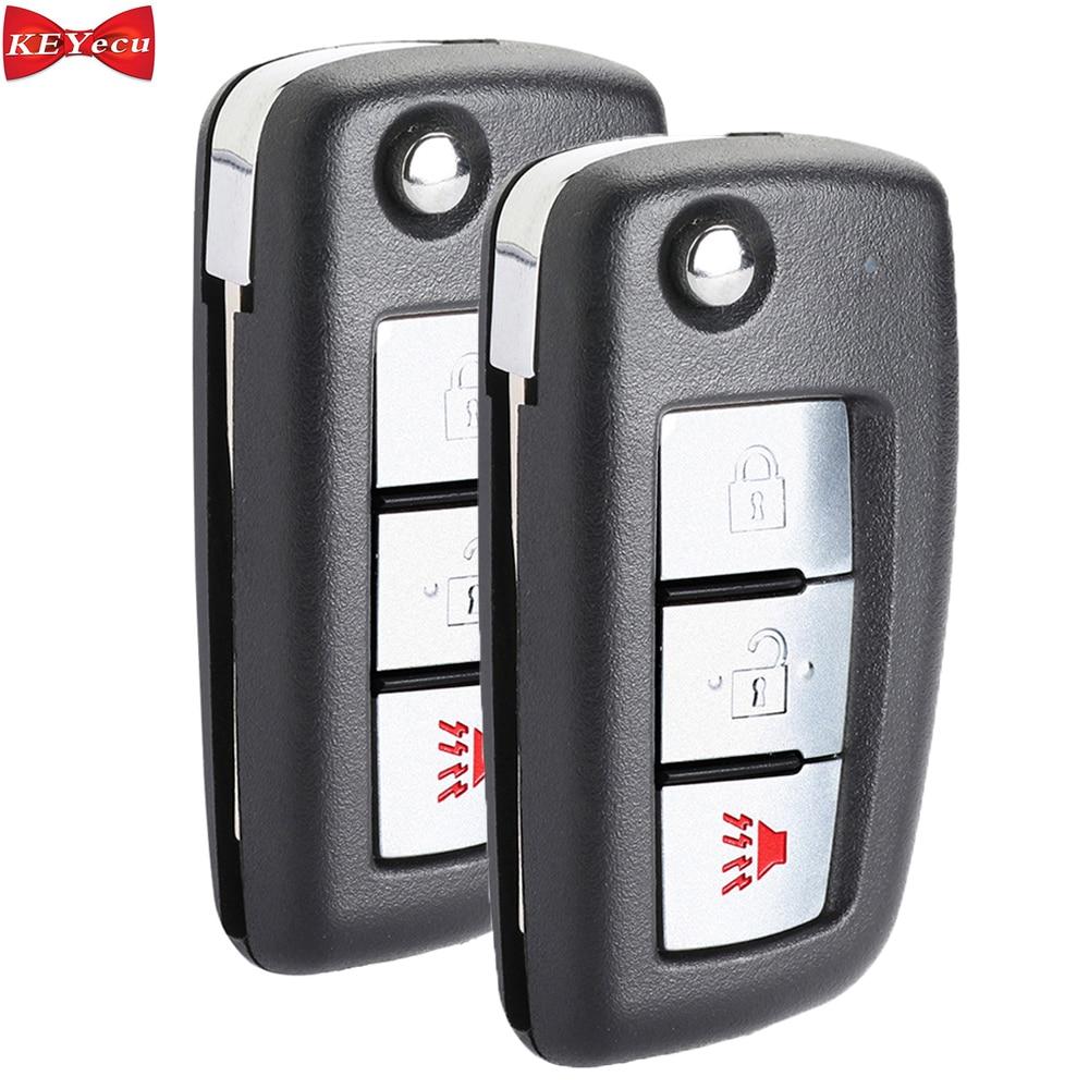 KEYECU 2 шт. для Nissan Rogue 2014 2015 2016 2017 2018 2019 2020 дистанционный ключ FCC ID: CWTWB1G767 Модель: