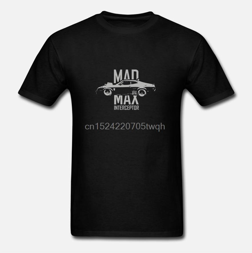 Nuevo Mad Max Interceptor Max Army Muscel Car divertido gráfico camisa negra tamaño S-2XL(1)