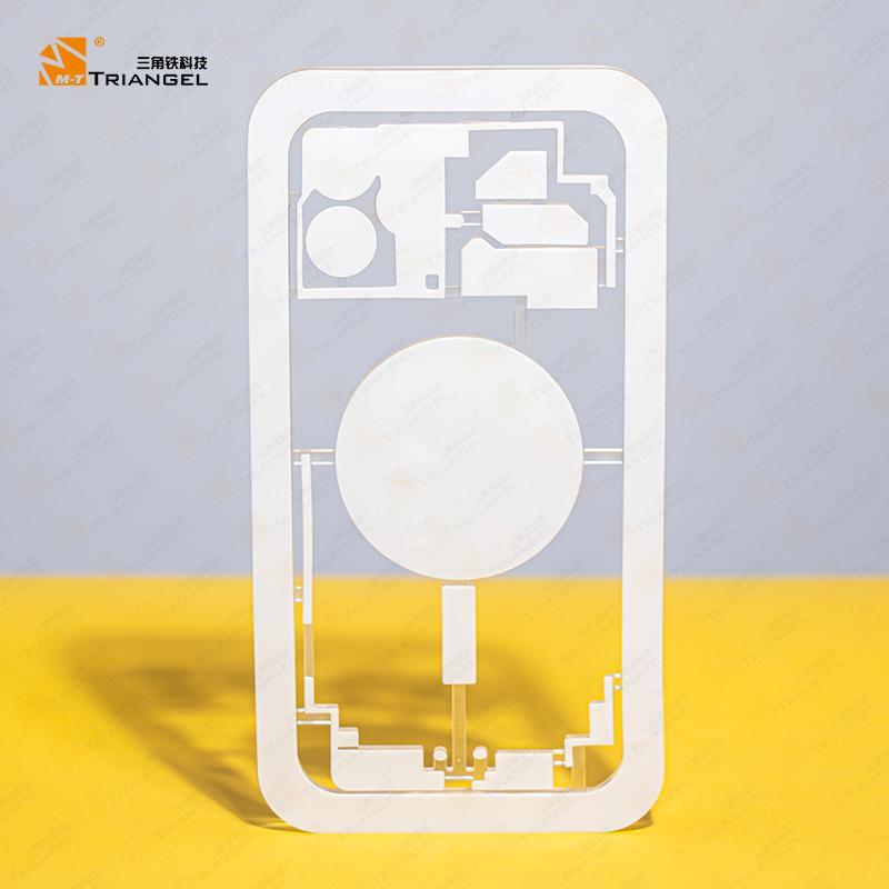 طقم 13 قطعة حماية قوالب رسم فيزيائي M-Triangel لجهاز iPhone لإزالة الزجاج الخلفي بآلات الليزر
