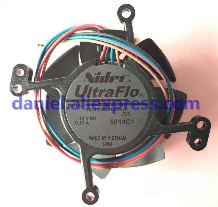 Original Epson EB-C40X/C45W/C50W/C55W Ventilador Do Projetor E60T13MS1B7-57
